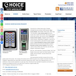 Choice Door Access Control System Singapore - Easy DIY Package at $348.00