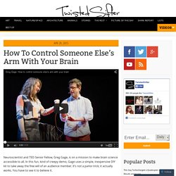 How To Control Someone Else's Arm With Your Brain
