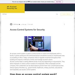 Access Control Systems for Security