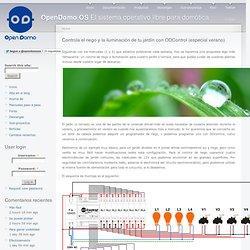 OPENDOMO OS Controla el riego y la iluminación de tu jardín con ODControl (especial verano)