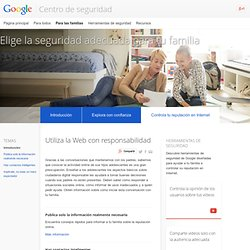 Manage your online reputation – For families – Safety Center – Google