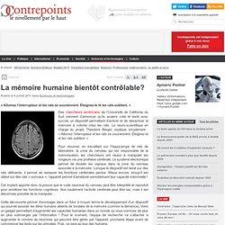 La mémoire humaine bientôt contrôlable?