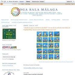 """Yoga Sala Málaga: """"¿Ayuda el yoga a controlar la obesidad?"""", lee uno de los artículos más leídos de YogaSala Blog, más de 43700 visitas (viernes 24.07.15)"""