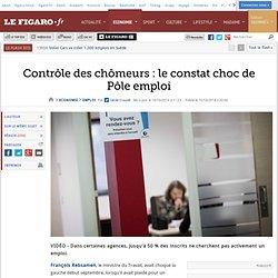 16/10 Contrôle des chômeurs: le constat choc de Pôle emploi