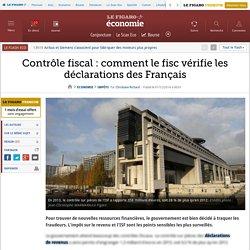 Contrôle fiscal: comment le fisc vérifie les déclarations des Français