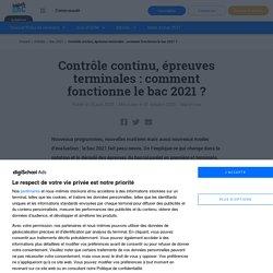 Contrôle continu, épreuves terminales : tout savoir sur le bac 2021