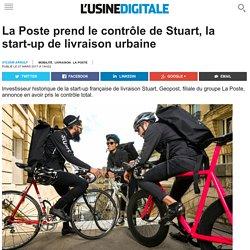 La Poste prend le contrôle de Stuart, la start-up de livraison urbaine