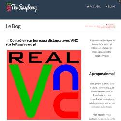 Contrôler son bureau à distance avec VNC sur le Raspberry pi