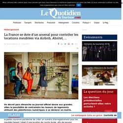 La France se dote d'un arsenal pour contrôler les locations meublées via Airbnb, Abritel, …