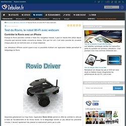 Contrôler le Rovio avec un iPhone