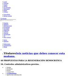 16. Controles administrativos previos.