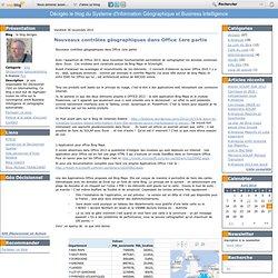 Nouveaux contrôles géographiques dans Office 1ere partie - le blog decigeo