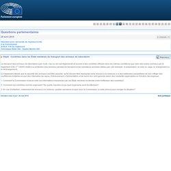 PARLEMENT EUROPEEN - Réponse à question E-006898-15 Contrôles dans les États membres du transport des animaux de laboratoire