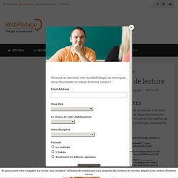 La triste fin des contrôles de lecture - LeWebPédagogique
