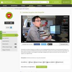 Vidéo : Contrôleur de gestion chez Groupe Bel