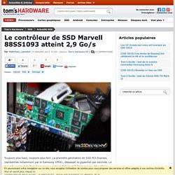 Le contrôleur de SSD Marvell 88SS1093 atteint 2,9 Go/s