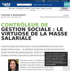 Contrôleur de gestion sociale : le virtuose de la masse salariale