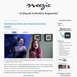 Contrôlez la Reine de la Nuit du bout des doigts! - Weezic Augmented Sheet Music Blog