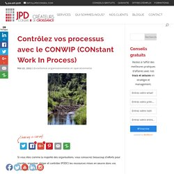 Contrôlez vos processus avec le CONWIP (CONstant Work In Process)