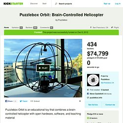 Puzzlebox Orbit: Brain-Controlled Helicopter by Puzzlebox