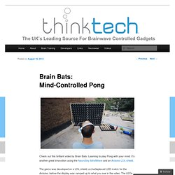 Brain Bats: Mind-Controlled Pong