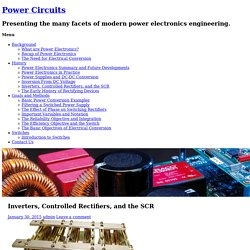 Inverters, Controlled Rectifiers, and the SCR