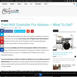 Best Midi Controller For Ableton - What To Get? - Music Skanner