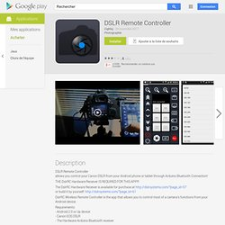 DSLR Remote Controller - Android-Apps auf Google Play