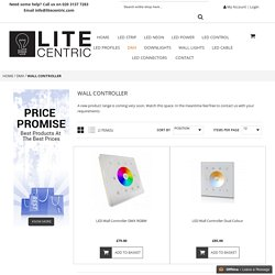 Wall controller - Lite centric