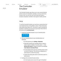 The Controller Emulator