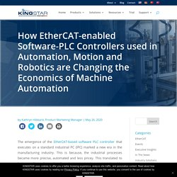 EtherCAT-enabled Software-PLC Controller