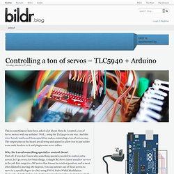 Controlling a ton of servos – TLC5940