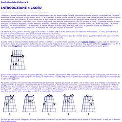 Controllo della Chitarra 03 - Introduzione a CAGED