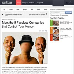 The Five Faceless Companies That Control Your Money - Business Insider