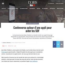Controverse autour d'une appli pour aider les SDF