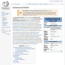 Controverse Fischer