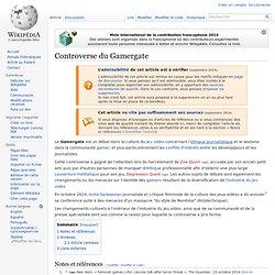 Controverse du Gamergate