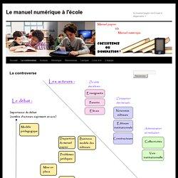 Le manuel numérique à l'école