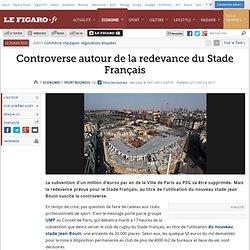 Sport Business : Controverse autour de la redevance du Stade Français