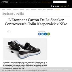 L'Etonnant Carton De La Sneaker Controversée Colin Kaepernick x Nike