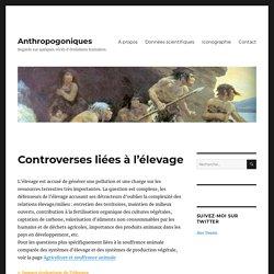 Controverses liées à l'élevage – Anthropogoniques