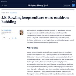 Why JK Rowling's controversial views keep her in the limelight