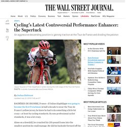Cycling's Latest Controversial Performance Enhancer: the Supertuck