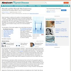 Hidden Danger in Your Drinking Water and Toothpaste / Fluoride and Fluoridated Water's Link to Thyroid Disease