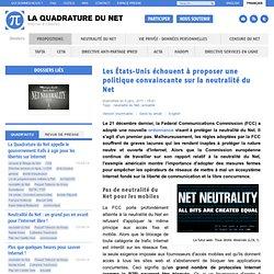 Les États Unis échouent à proposer une politique convaincante sur la neutralité du Net