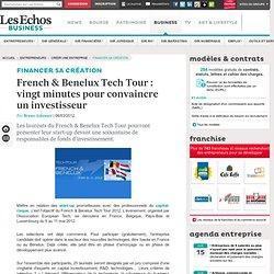 French & Benelux Tech Tour : vingt minutes pour convaincre un investisseur