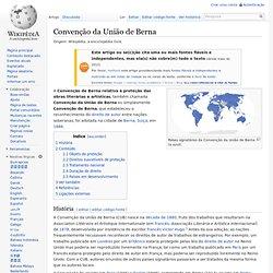 Convenção da União de Berna