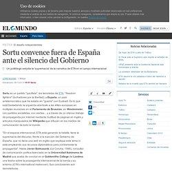 Sortu convence fuera de España ante el silencio del Gobierno
