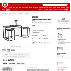 Convenience Concepts Nesting Tables - Black