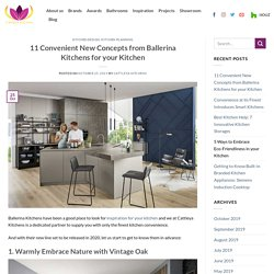 11 Convenient New Concepts from Ballerina Kitchens for your Kitchen